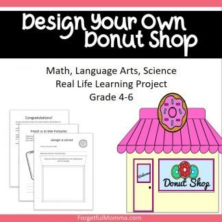 Design Your Own donut shop - product cover